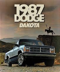 100 1987 Dodge Truck Dakota Dakota LE Pickup NOS Sales Brochure EBay