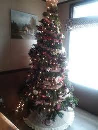 Christmas Tree Shop North Dartmouth Mass by Ge 7 5 Ft Pre Lit Aspen Fir Slim Artificial Christmas Tree White