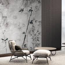 masar neue chinesische stil element design wandbild hohe ende residenz dekoration tapete wohnzimmer wand tapete bambus wald