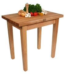 Boos Country Style Butcher Block Dining Table