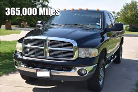 High Miles 2004 Ram HD Diesel: Do You Have Over 365,000 Miles On ...