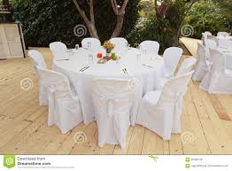 Beautiful White Table And Chairs In Restaurant Stock Photo ... Wedding Table Set With Decoration For Fine Dning Or Setting Inspo Your Next Event Gc Hire Party Rentals Gallery Big Blue Sky Premier Series And Wood Folding Chair With Vinyl Seat Pad Free Storage Bag White Starlight Events South Wales Home Covers Of Lansing Decorations Chiavari Elegant All White Affaire Black White Red Gold Reception Decorations Pink Oconee Rental In Athens Atlanta