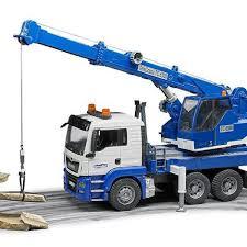 Spesifikasi Harga Bruder Toys 2826-MACK Granite Crane Truck With ...