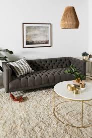 Tufted Velvet Sofa Toronto by Furniture U2013 Designer U0026 Unique Furniture Anthropologie