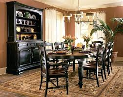 Black And Brown Dining Table Nice Room Furniture Sets