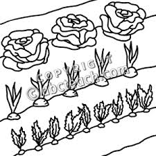 Garden clipart black and white 1 495