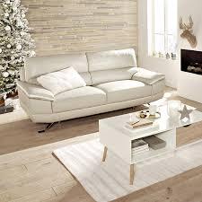 canapé en cuir blanc rendre lustre à un canapé blanc très sale but