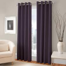 Majestic Blackout Lined Grommet Window Curtain Panel