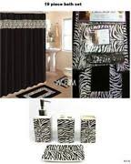 leopard bathroom set ebay