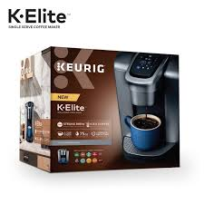 K Elite Single Serve Cup Pod Coffee Maker