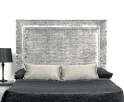 Cheap Upholstered Headboards Canada by Rectangle Dark Brown Wooden Grey King Trends With Size Headboard