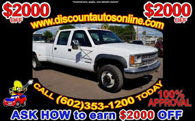 Cars For Sale Phoenix AZ | Used Pickup Trucks - Discount Auto Sales Lifted Trucks Phoenix Az Read Consumer Reviews Browse Google Diesel Arizona The American Force Table Rock Chevy Silverado For Sale X K With Lets See Those 092013 Lifted Trucks Page 49 Ford F150 Forum Liftshop Truck Parts For Sale In Vehicles 85022 Custom 4x4 Competitors Revenue And Employees Owler Company Profile Boss Used 2017 F350 Super Duty Fx4 4x4 Vin Lot Tour Of Arizonas Toughest