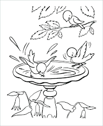 Kid Printable Coloring Pages Weather Spring Free