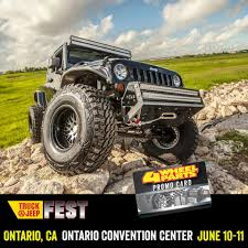 4 Wheel Parts - The Ontario Truck & Jeep Fest Is Coming To... | Facebook 4 Wheel Parts Dont Miss Atlanta Truck Jeep Fest Facebook Denver Garage Amino Orlando Gaylord Palms Resort Cvention Center San Mateo Recap Youtube Zone At The Bantam Blog And Fest Ontario Ca 11jun16 Houston Tx Trsamerican Auto Westin Automotive On Twitter Happening Now 4wheelparts Jeepfest 22425 Tacoma World Home Toledo 2018