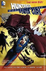 Worlds Finest TPB 2013 2015 DC Comics The New 52 Huntress