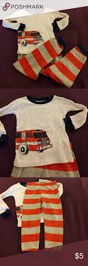 Carter's Long Sleeve Fire Truck Pajamas | Pyjama Sets, Pyjamas And ... Boys 12 Months Carters Fire Truck Hero 2 Pc And Similar Items Hatley Trucks Organic Pyjamas Childrensalon Outlet From Cwdkids Holiday Pajamas Kids Outfits Truck Santa Pajamas Sawyer Sisters Smocked Clothing More 2018 Summer Children Excavator Print Pajama 1piece Firetruck Snug Fit Cotton Pjs Carterscom Amazoncom The Childrens Place Babyboys Fireman Piece For Kait Fuzzy Yellow Hooded Footed Bleubell Toddler Transport Graphic Tee Sale Size 18 These Were A Gift To