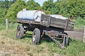 Farm Old Transport Vehicle Agriculture Locomotive Rusty Rusted Trailers Rural Area Device Rolling Stock Railroad