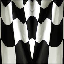 Checkered Flag Window Curtains by Checkered Flag Golfcargraphics Com