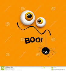 Free Halloween Ecards Funny by Funny Halloween Greeting Card Monster Eyes Vector Stock Vector
