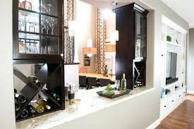 How To Separate Living Room And Dining Bar Cut Out Separating Kitchen