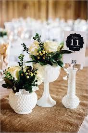 Milk Glass Inspired Wedding
