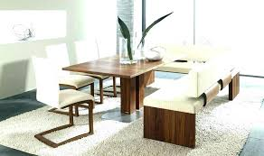 Dining Room Tables With A Bench Table Seat Kitchen And Benches