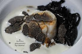 cuisiner trompette de la mort recettes de fêtes jacques crème de topinambour et truffe