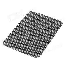 PVC Auto Car Soft Anti slip Mat Black 15 11cm Free Shipping