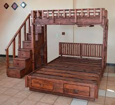 Queen Size Loft Bed Plans by Bunk Beds Extra Long Twin Loft Bed Frame Twin Over Queen Bunk
