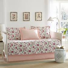 laura ashley dorthea pink 5 piece daybed set pink daybed target
