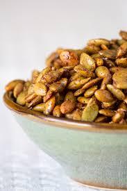 Roasted Shelled Pumpkin Seeds by Pumpkin Pie Spice Roasted Pepitas U2014 Edible Sound Bites