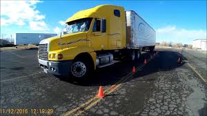 100 How To Parallel Park A Truck Class CDL Skills Test Sight Side YouTube