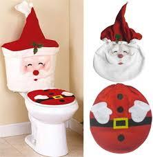 lispeed weihnachts wc abdeckung toilettensitzbezug