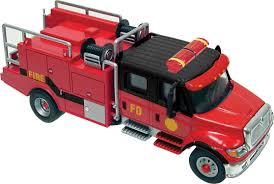 Walthers HO Scale International 7600 2-Axle Crew-Cab Brush Fire ...