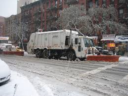 100 Truck With Snow Plow NY Garbage Truck Plow VEHICLES SNOW REMOVAL Garbage