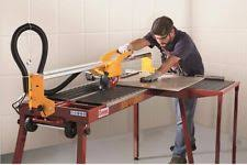 Qep Wet Tile Saw Model 60010 by Gundlach Aeoa 02 21500 Rpm Wet Tile Saw Works Runs With Stand Ebay