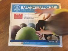 Gaiam Classic Balance Ball Chair Charcoal by Items In Spritepath Store On Ebay