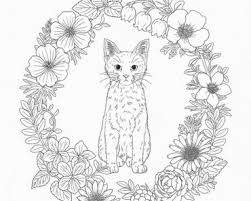 Best Of Kawaii Cat Coloring Pages Images