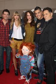 Halloween The Curse Of Michael Myers Cast by Chucky And The Cast Of Curse Of Chucky L R Brennan Elliott