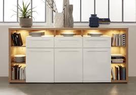 low sideboard badezimmer kommode hochglanz weiß