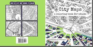 Color Maps To Your Hearts Content With This City Coloring