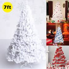 ThinkTop Christmas Tree Skirt Faux Fur Tree Skirt Pure White Plush Round DIY Home Decoration Ornaments For Xmas New Year Holiday Party 307 White