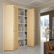Pre Made Cabinet Doors Home Depot by Closet Door Bi Fold Louver Louver Plantation 36x80 Closet