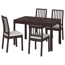 EKEDALEN / EKEDALEN Table And 4 Chairs - Dark Brown, Orrsta Light ... 4 Chair Kitchen Table Set Ding Room Cheap And Ikayaa Us Stock 5pcs Metal Dning Tables Sets Buy Amazoncom Colibrox5 Piece Glass And Chairs Caprice Walkers Fniture 5 Julia At Gardnerwhite Pc Setding Wood Brown Ikayaa Modern 5pcs Frame Padded Counter Height Ding Set Table Chairs Right On Time Design 4family Elegant Tall For Sensational