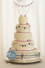 Wedding Cake Topper Bunting Photo