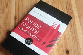 cahier de cuisine à remplir le carnet de recettes par moleskine chez requia cuisine et