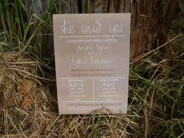 Budget Wedding Ideas DIY Invitations Etsy Weddings Country Style Kraft Paper