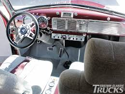 1951 Chevy Truck Dash | 1951 Chevy Truck Interior 1951 Chevy ... Ez Chassis Swaps 1949 Chevrolet 3100 True Blue Hot Rod Network Stance Works Larry Fitzgeralds Chevy Pickup Chevygmc Pickup Truck Brothers Classic Parts Rocky Mountain Relics Lowrider Magazine Vintageupick Company Miami Florida 1950 Demolition Sold Old Gmc Trucks Go Through Kooks Basement Of Parts And Look 1 12 Ton Jim Carter Guy Chad Worths Chevs Of The 40s News