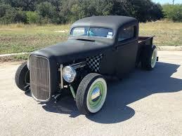 100 1937 Ford Truck For Sale Traditional HotRod RatRod SCTA Pickup Flat Black