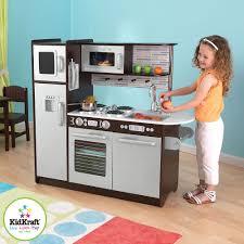 Kitchen Kidkraft Costco Kitchens Uk Black And Grey Play Theme